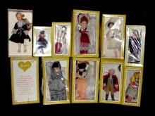 Collection Of 11 Effanbee Doll In Original Boxes