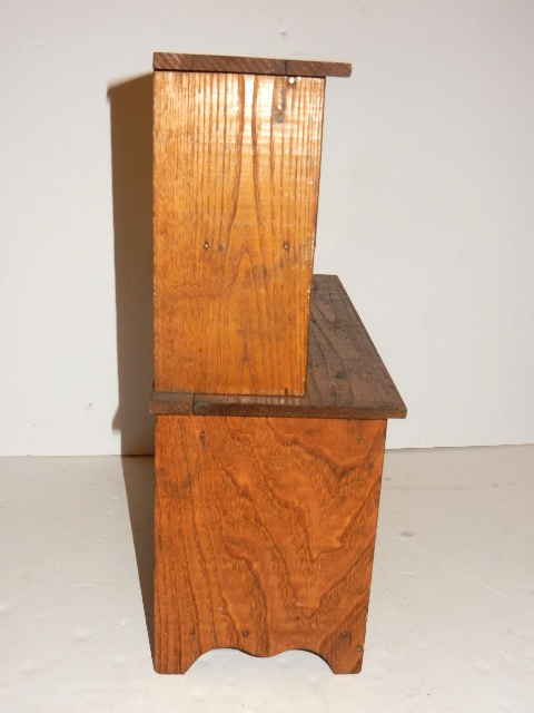 Salesman sample or child 39 s kitchen cabinet for Auctions for kitchen cabinets