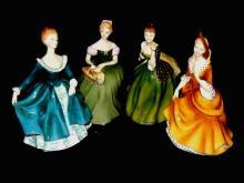 Four R. Doulton Clarrissa, Fleur, Jannie & Sandra