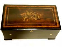 Henry Gautschi & Sons Inlaid Music Box