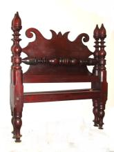 Early Country Cherry Four Poster Bed