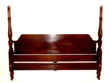 Henkel Harris Mahogany King Size Bed