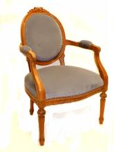 Louise XV Style French Arm Chair Ca.1940-50's