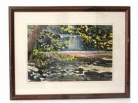 Thomas McNickle Watercolor American 1944/1985