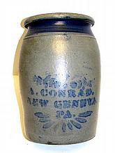 A. Conrad New Geneva 2 Gallon Preserve Jar