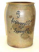 Advertizing 3 Gallon Stoneware Crock