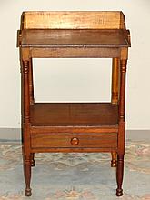 Victorian Cherry One Drawer With Gallery