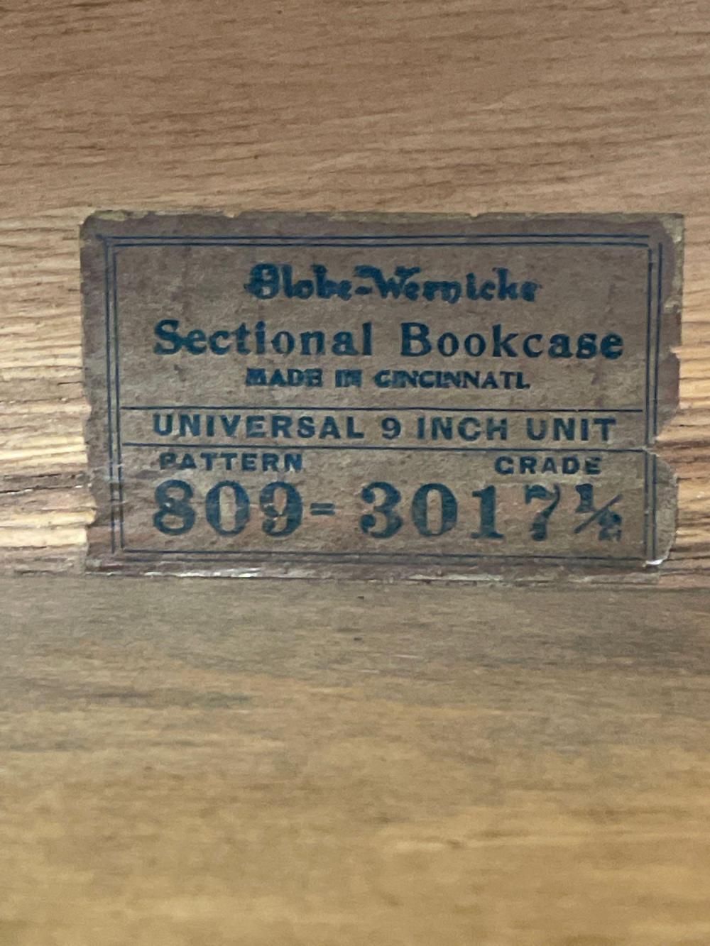 American Globe-Wernicke Six Stack Lawyers Bookcase