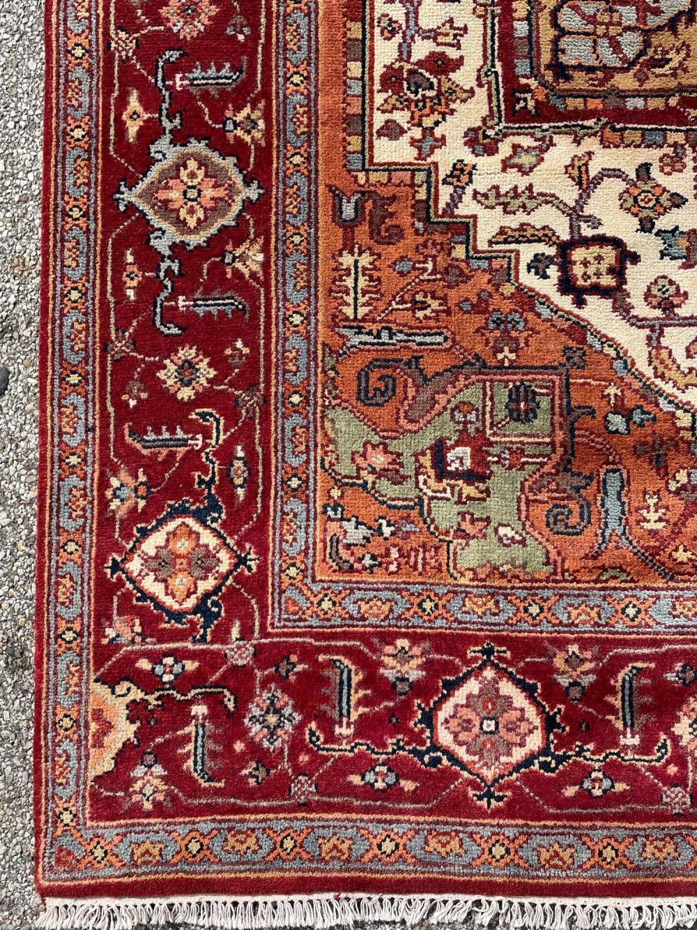 Indo Persian HERIZ SERAPI Carpet