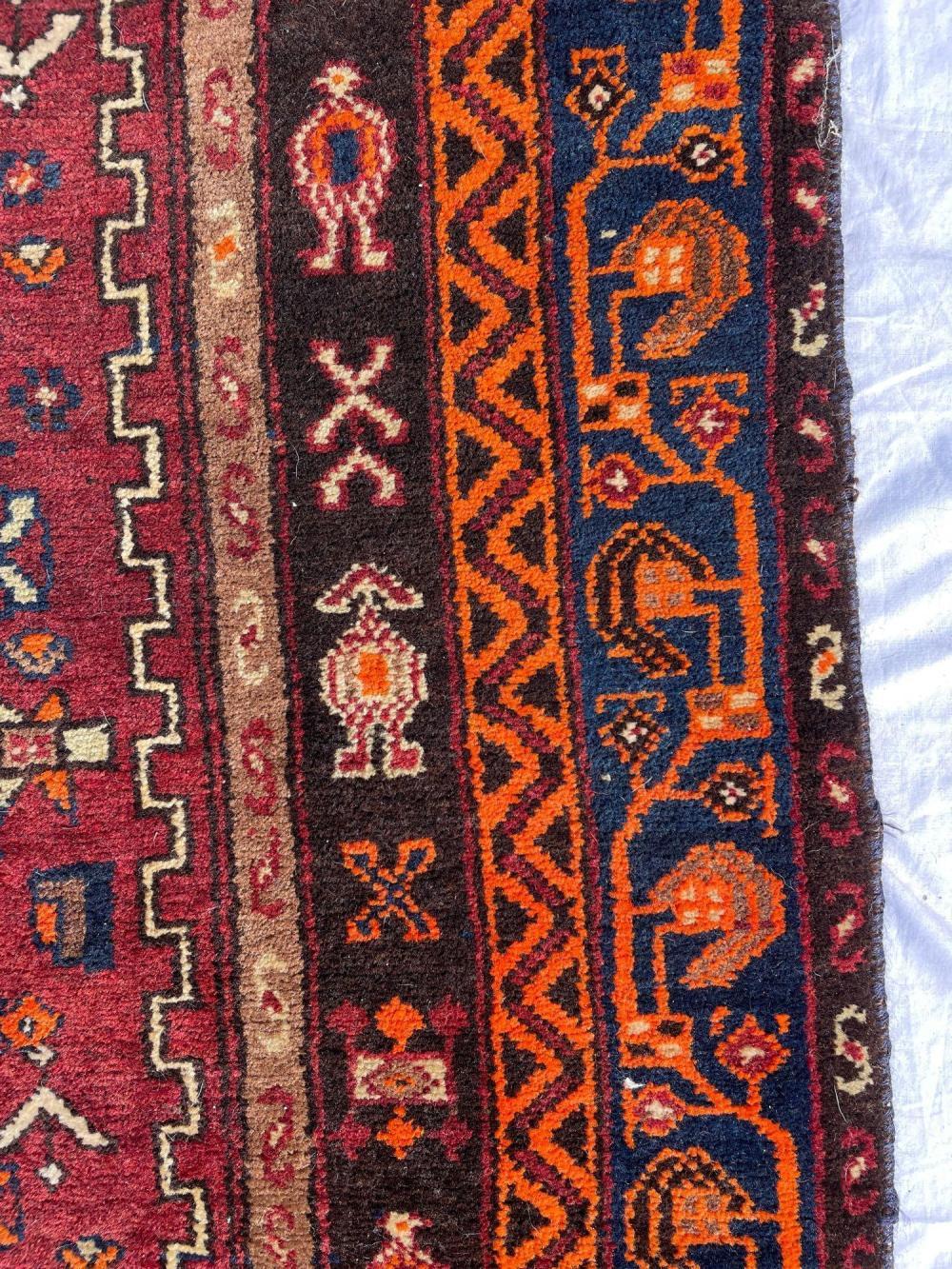 High Pile Semi Antique Wool Carpet