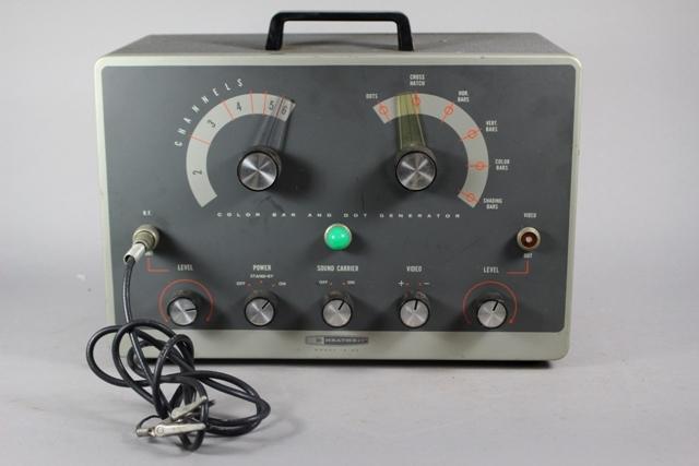 Color Bar Generator : Heathkit g color bar and dot generator