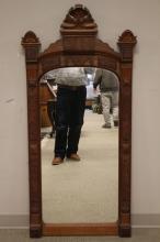 Victorian Eastlake Peer Mirror