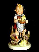 Hummel Figurine Feeding Time #199 TMK 2