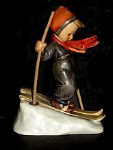 Hummel Figurine Skier # 59 Full Bee TMK 2