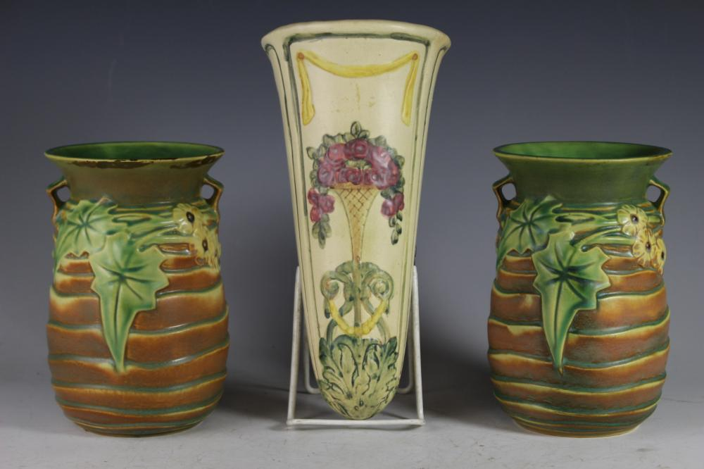 20th Century Roseville Pottery Group