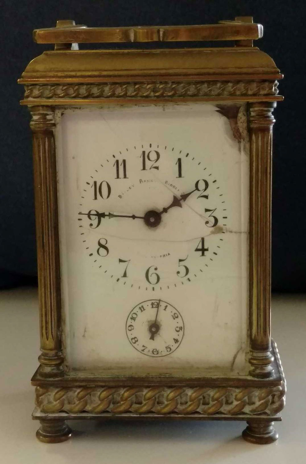Bailey Banks Biddle Carriage Clock