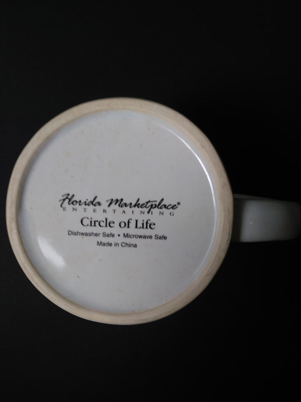 "CIRCLE OF LIFE"" - SERVICE FOR 12 - FLORIDA MARKETPLACE ENTE"