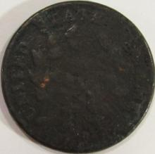 Lot 6: 1802 Draped Bust Large Cent AG