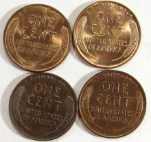 Lot 3: 4-BU Lincoln Cents
