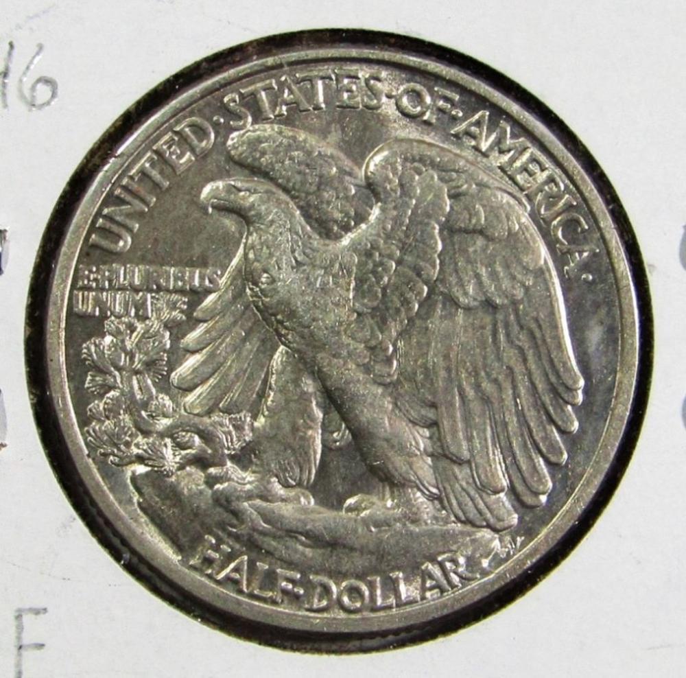 Lot 36: 1946 DDR WALKING LIBERTY HALF DOLLAR