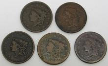 Lot 72: 1836, 1837, 1839, 2-Early Partial Dates, Large