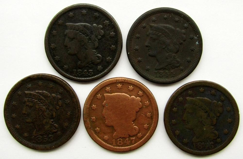 5 - LARGE CENTS: