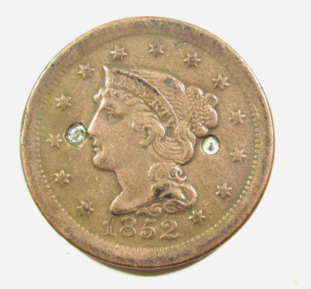 Lot 122: 14-Lesser Grade Large Cents