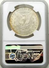 Lot 157: 1896-P Morgan Silver Dollar $ NGC MS 62 Nice Light