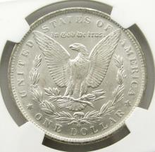 Lot 171: 1883-O Morgan Silver Dollar $ NGC MS 61
