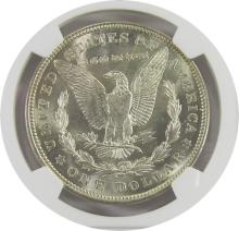 Lot 174: 1921 MORGAN DOLLAR NGC MS62