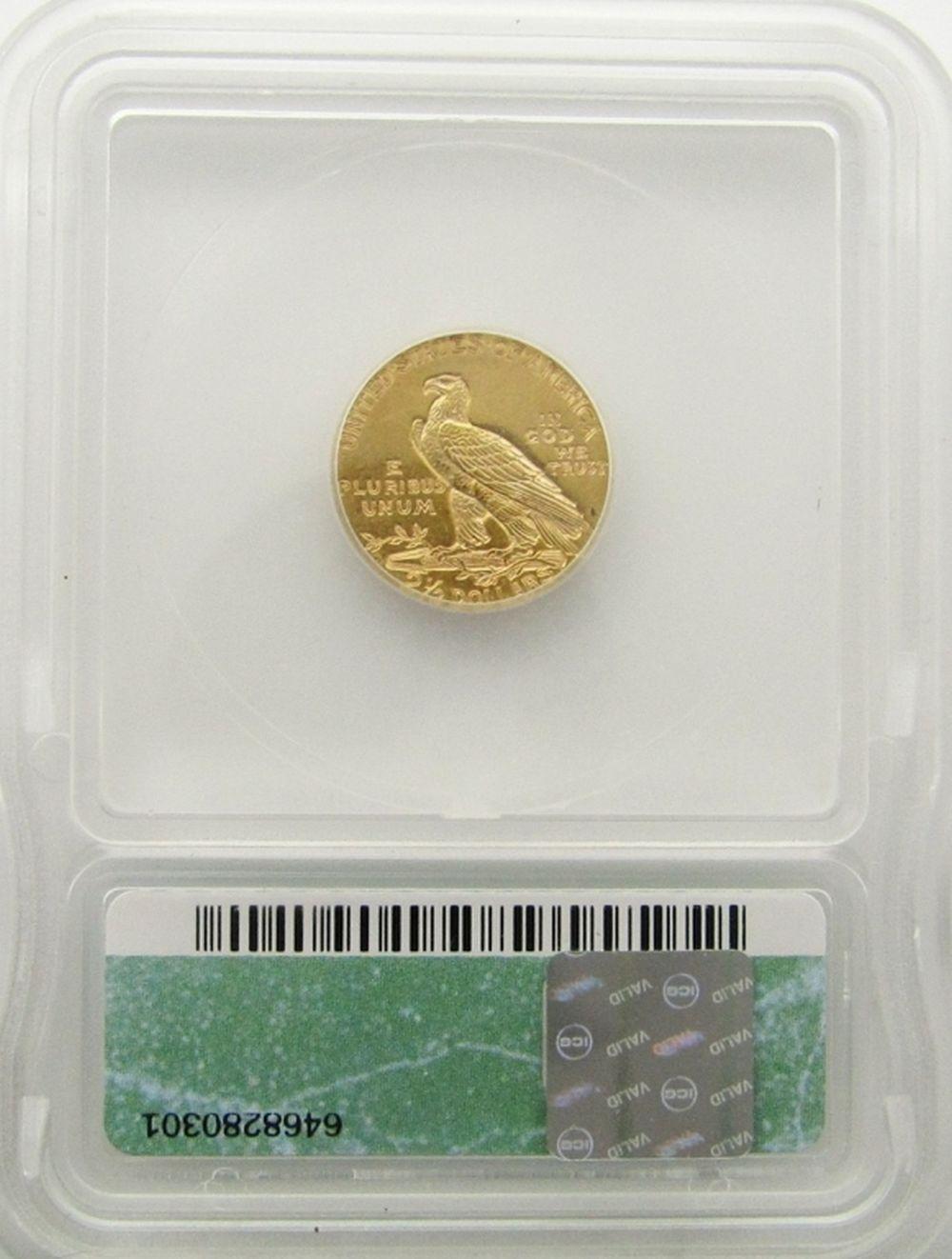 Lot 179: 1925-D $2.5 Gold Indian Head
