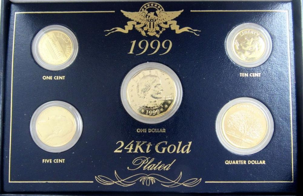 Lot 228: 2-1934 Yr to REMEMBER 5 COIN SET;