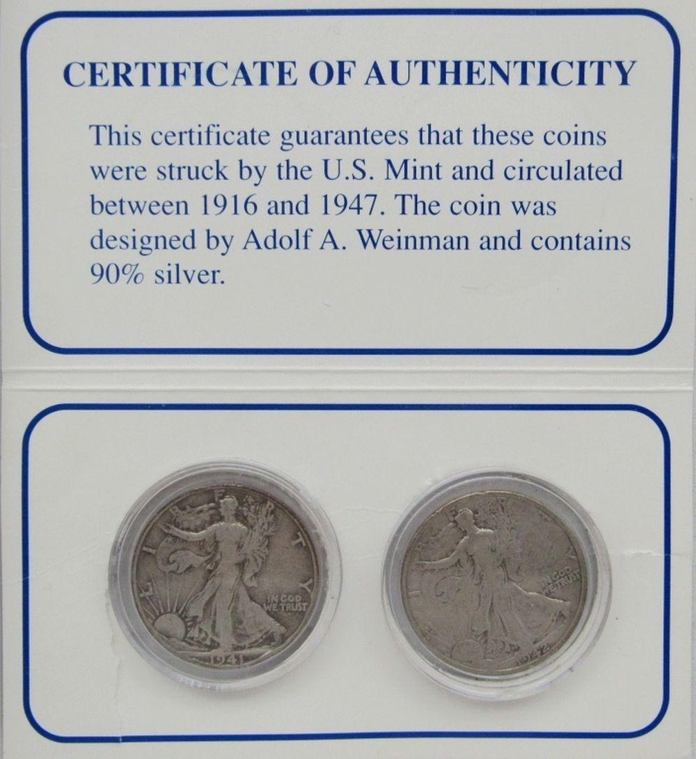 Lot 249: AMERICAN MONUMENTS 5 COIN SET;