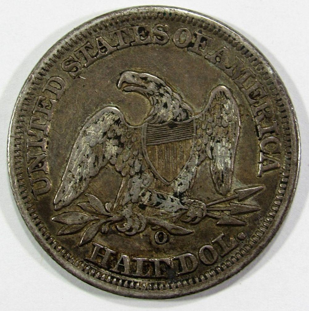 Lot 256: 1856-O SEATED HALF DOLLAR VF/XF