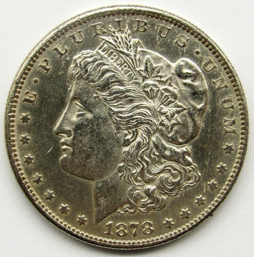 Lot 263: 1878-S MORGAN DOLLAR BU