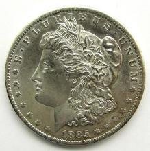 Lot 267: 1885-O MORGAN DOLLAR UNC