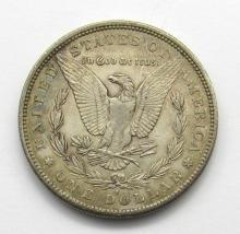 Lot 266: 1884-S BETTER DATE MORGAN DOLLAR AU