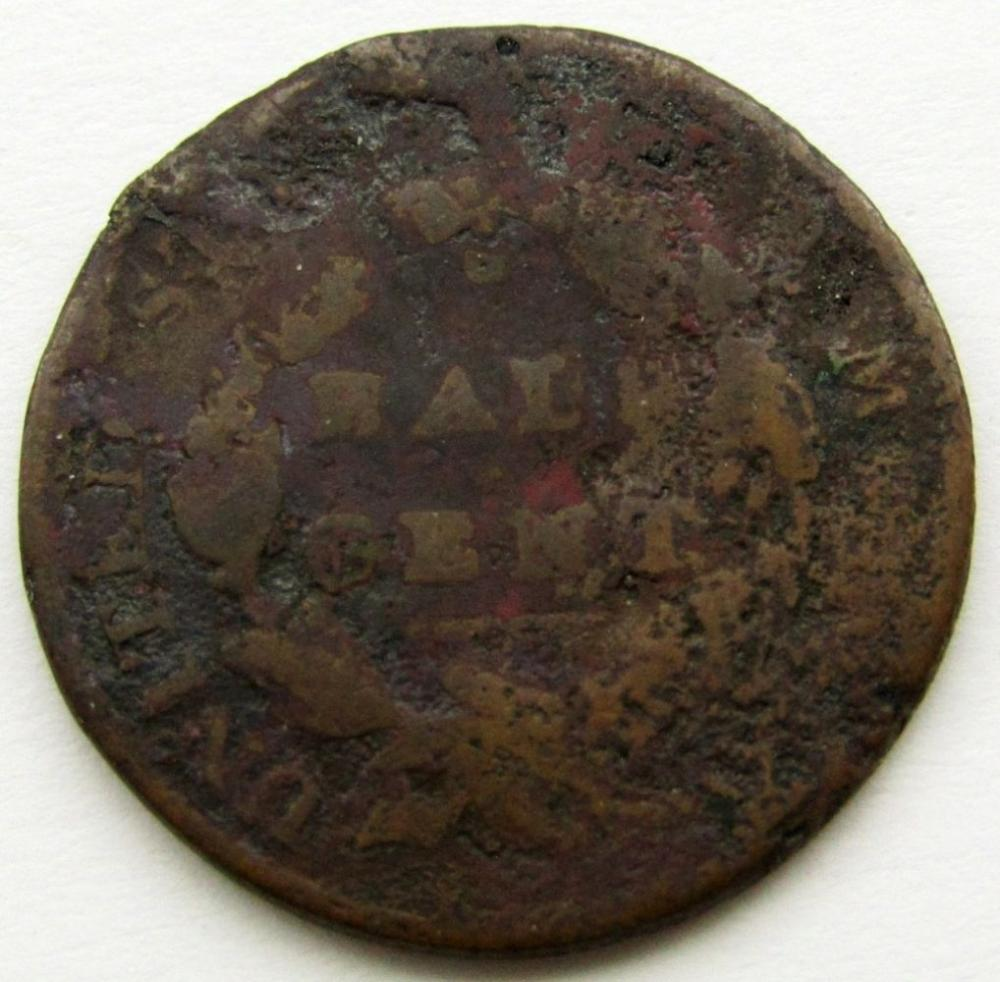 Lot 276: 1828 CLASSIC HEAD HALF CENT GOOD