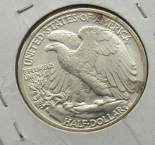 Lot 300: 1943 WALKING LIBERTY HALF DOLLAR BU