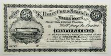 Lot 342: 1900's HAILEY COAL & MINING TRADE NOTE