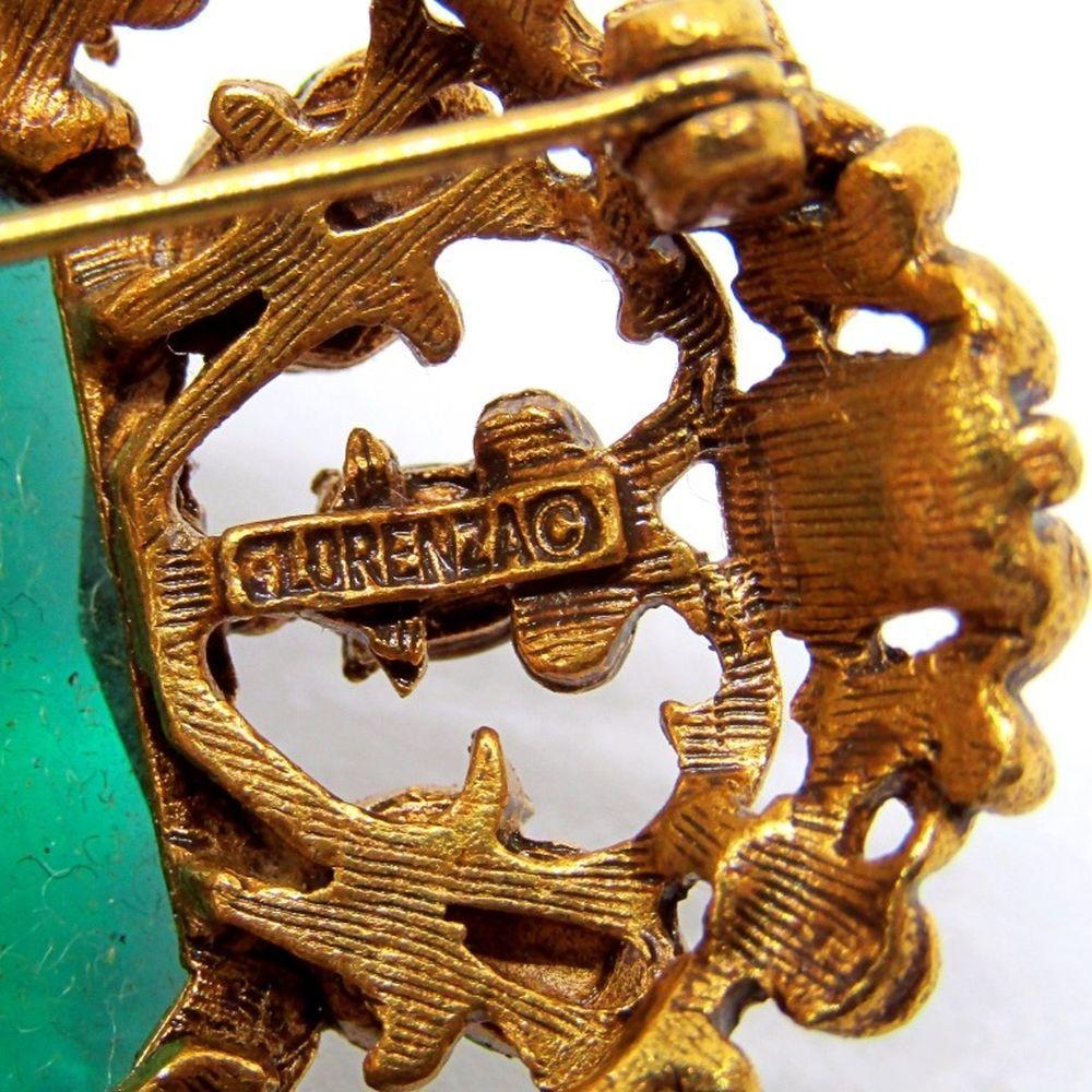 FLORENZA VINTAGE BROOCH / PIN Stunning