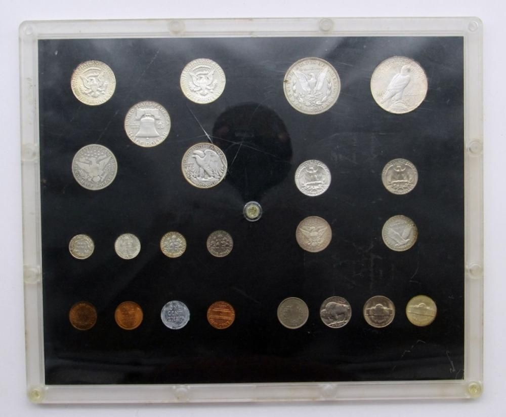 20TH CENTURY TYPE SET (23 COINS)