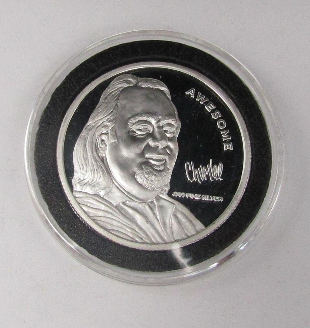 """PAWN STARS """"CHUMLEE"""" 1 OZT .999 SILVER"""