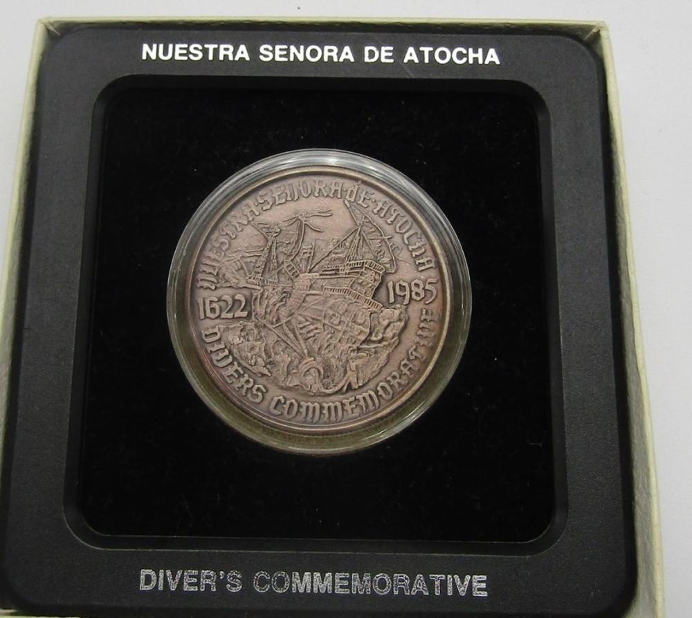 NUESTRA SENORA DE ATOCHA .999 SILVER