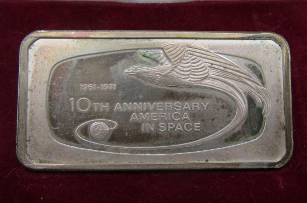 America's 10th Anniversary In Space Sterling Silve