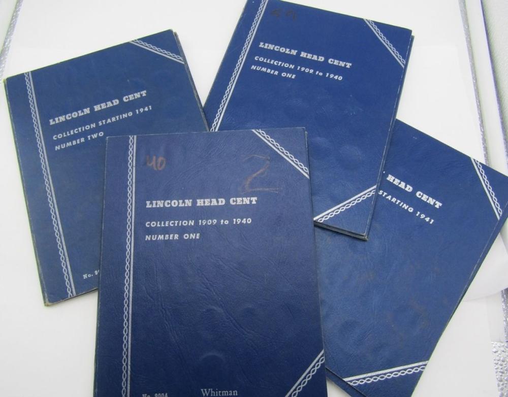 2-LINCOLN CENT STARTER SETS 1909-1960