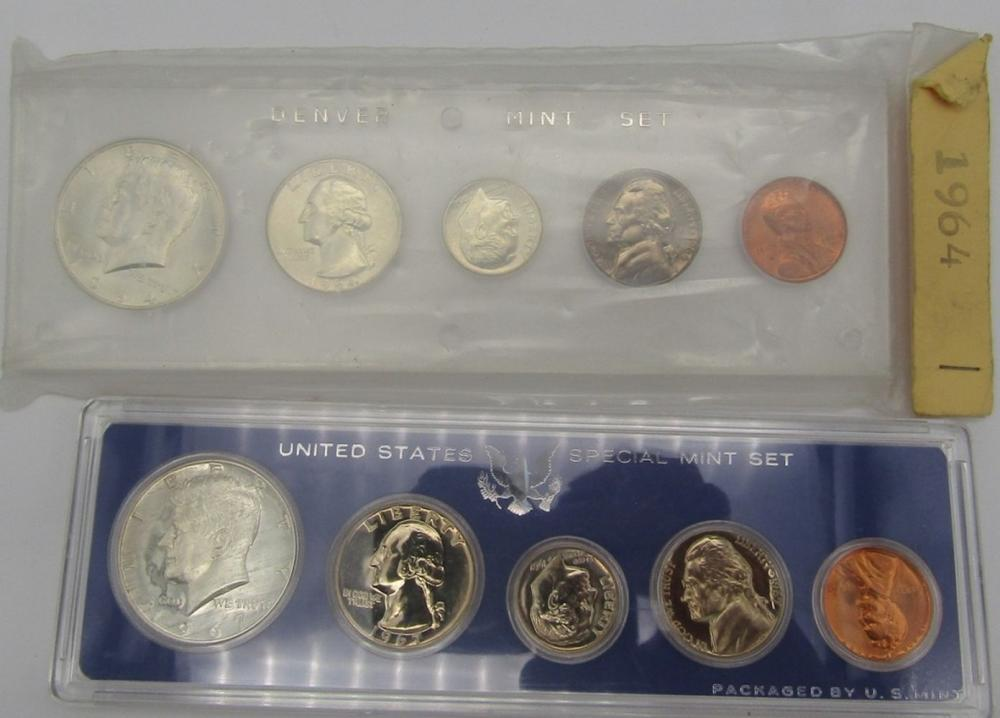 1964 UNC & 1967 SMS YEAR SETS