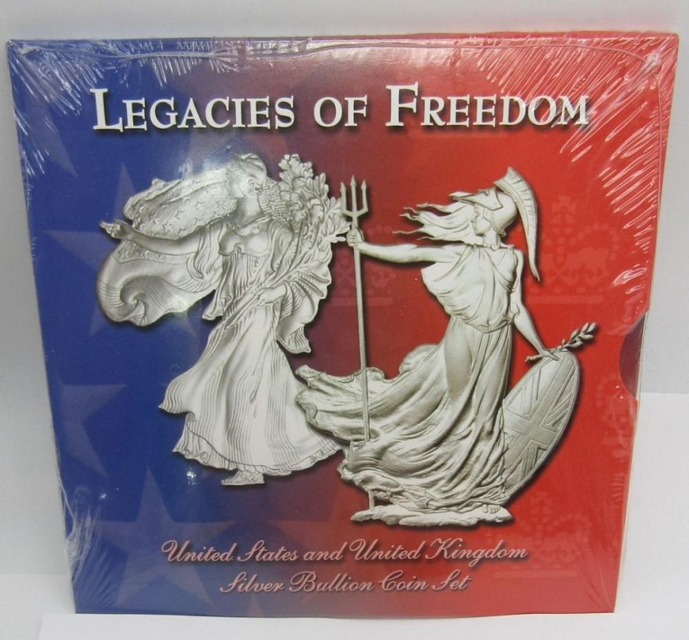 LEGACIES of FREEDOM SILVER BULLION