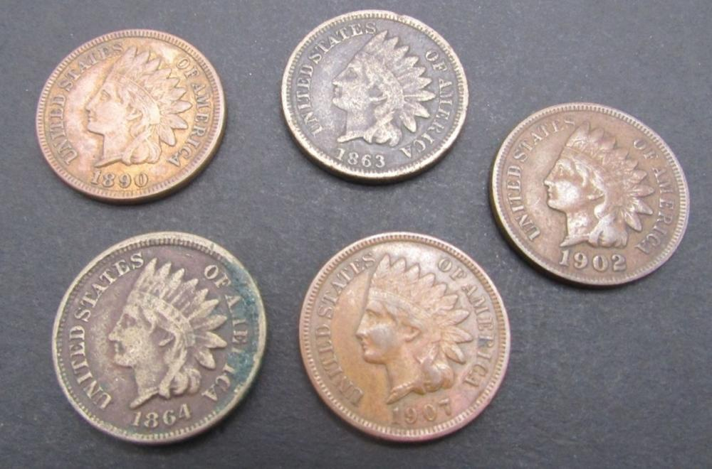 1863, 1864, 1890, 1902, 1907