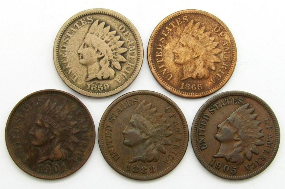 1859, 1860, 1888, 1901, 1905